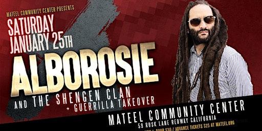 Mateel Community Center Presents:  Alborosie &  the Shengen Band