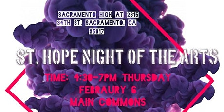St. Hope Night of the Arts tickets
