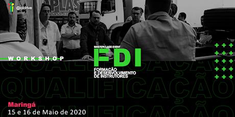 FDI - Formação e Desenvolvimento de Instrutores ingressos