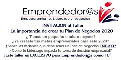 La Importancia de Crear tu Plan de Negocios 2020