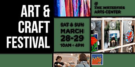 WaterFire Spring Art & Craft Festival tickets