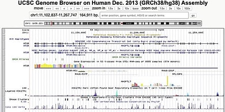 UCSC Genome Browser Workshop tickets
