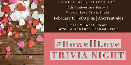 #HowellLove Trivia Night tickets