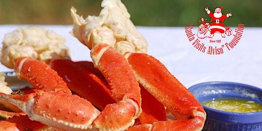 2020 Santa Visits Alviso  Crab Feed