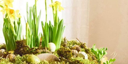 Easter flower arrangement workshop
