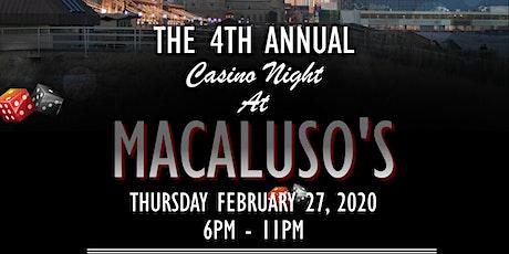 Hawthorne PBA Local 200 4th Annual Casino Night tickets