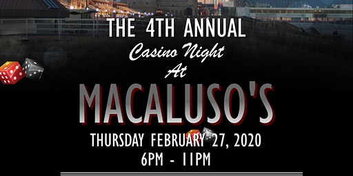 Hawthorne PBA Local 200 4th Annual Casino Night