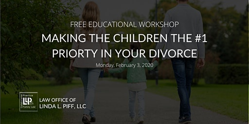 Making The Children The #1 Priority In Divorce