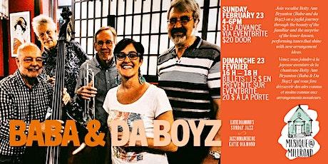 Sunday Jazz with Baba and da Boyz tickets