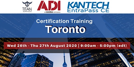 Toronto Kantech CE Certification - ADI  tickets