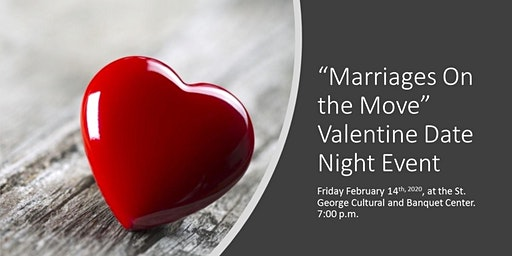 """Marriages On the Move""  February 14th ""Valentines Day"" Event"