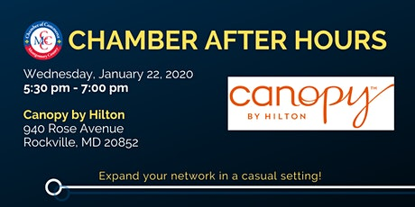 January 2020 Chamber After Hours tickets
