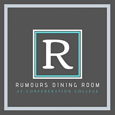 Rumours Dining Room at Confederation College logo