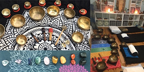 """""""Sonic Crystal Reiki"""" Sound Bath & Vibrational Therapy with Tibetan Bowls tickets"""