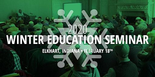 Winter Education Seminar in Elkhart, Indiana