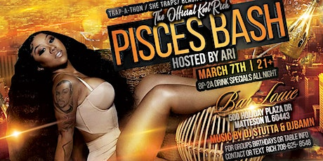 Kool Rich Pisces Bash Hosted By ARI tickets