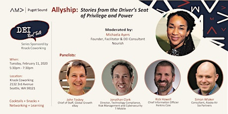 Allyship - Stories from the Driver's Seat of Privilege and Power tickets