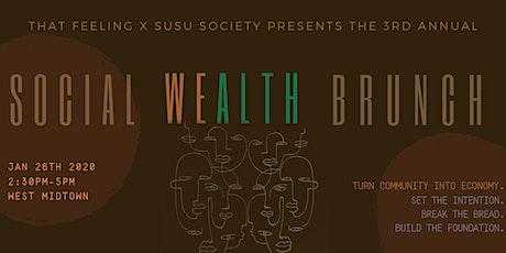 Social Wealth Brunch tickets