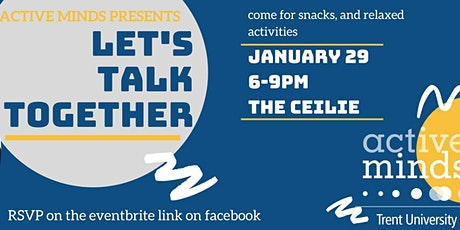 Let's Talk Together tickets