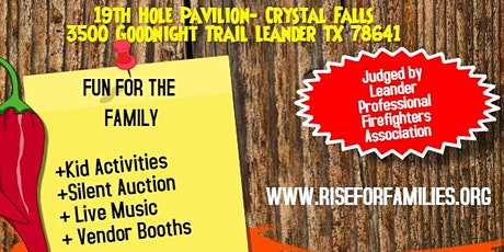 RISE for Families 2nd Annual Chili Cook-Off tickets