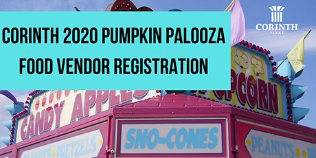 2020 Corinth Pumpkin Palooza Food Vendor Registration tickets