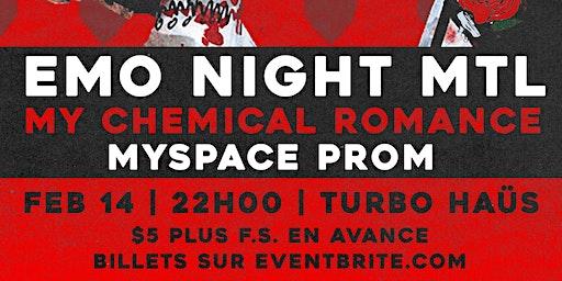 Emo Night Montréal - 14 fevrier 2020 // Turbo Haüs