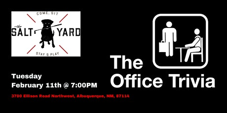 The Office Trivia at Salt Yard West tickets
