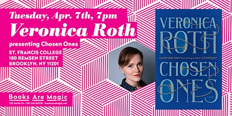 Veronica Roth: Chosen Ones tickets