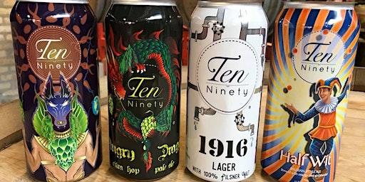 Ten Ninety 5 Course Beer Dinner