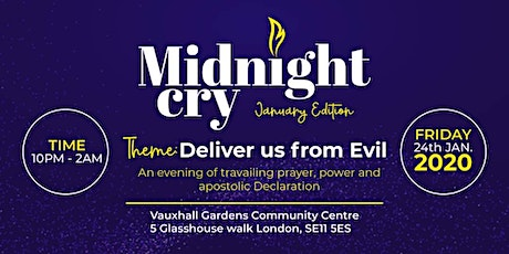 Midnight Cry - Deliver Us From Evil tickets