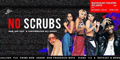 No Scrubs: R&B and Hip-Hop Throwback Party tickets
