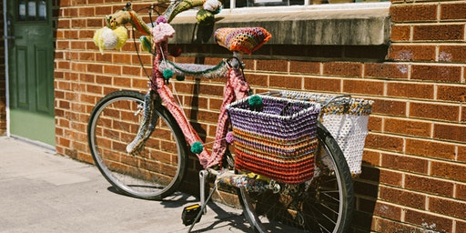 Learn to crochet at Bearwood Trade School