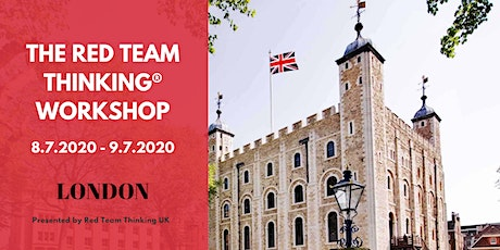 Red Team Thinking®  Workshop tickets