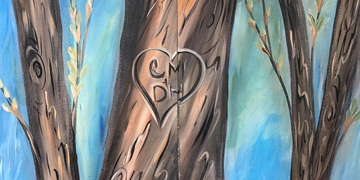 Paint and Sip Class: Couples Tree