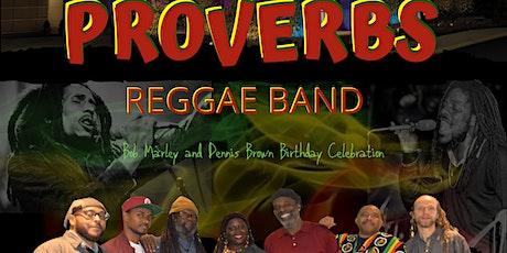 Proverbs Reggae Band LIVE at Maryland tickets