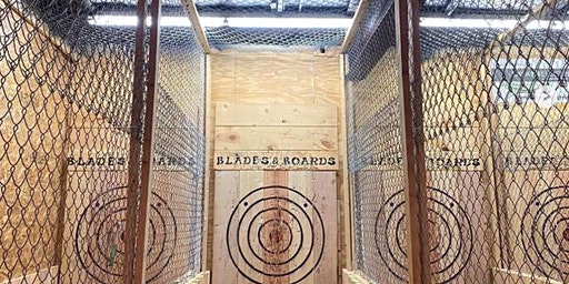 Women Who Explore Northeast Wisconsin Axe Throwing Event