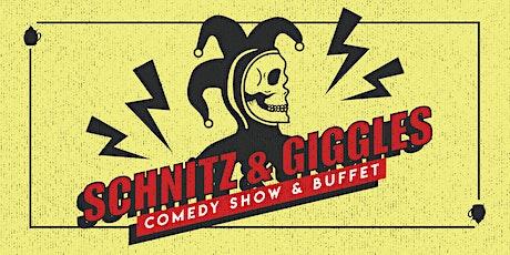 Schnitz & Giggles tickets