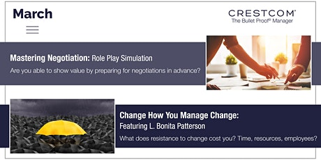 Crestcom's Bullet Proof Manager, a Leadership Development Program tickets