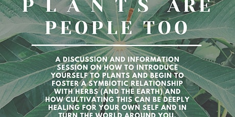 PLANTS are People too tickets