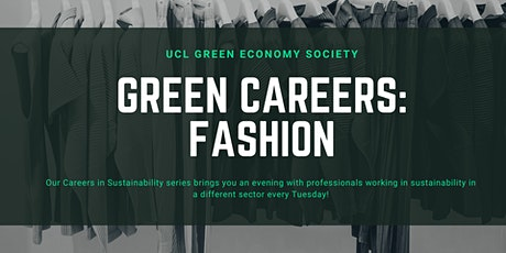 Green Careers: Fashion tickets