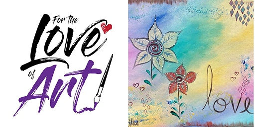 Paint and Sip Class: Hippy Love
