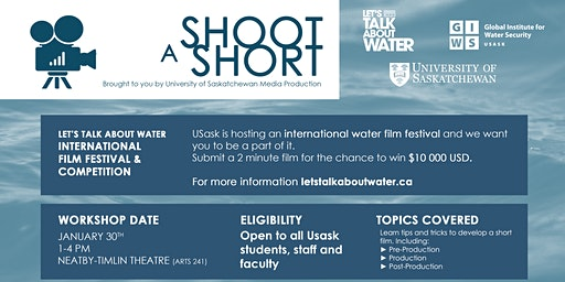 Shoot A Short  (Free Workshop for Film Production)