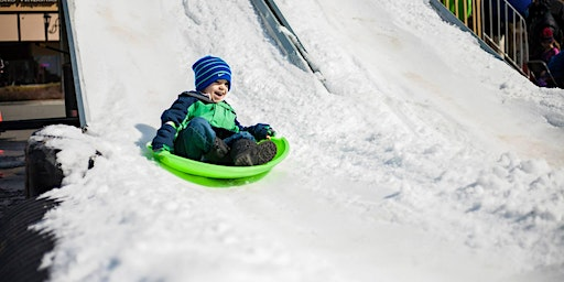 SNOW DAY Sledding at Waverly Place - February 29th, 2020