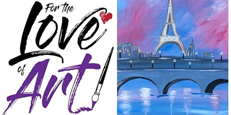 Paint and Sip Class: Paris Reflections tickets