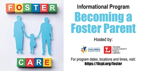 Becoming a Foster Parent - Informational Program tickets