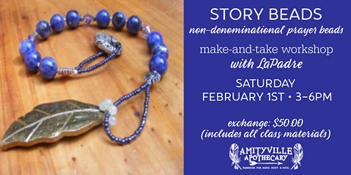 Story Beads- make & take workshop- with LaPadre