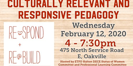 Culturally Relevant and Responsive Pedagogy tickets