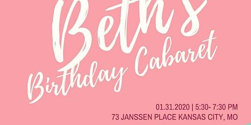 Beth's Birthday Cabaret