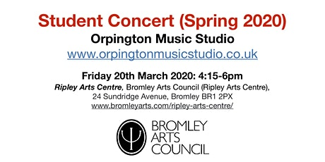 Student Concert (Spring 2020) - Orpington Music Studio tickets