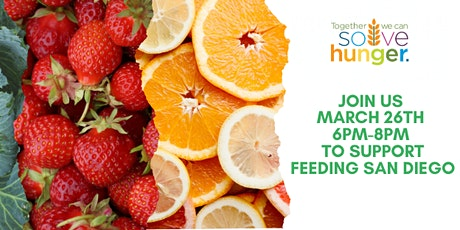 Give where you live! Volunteer with Feeding San Diego! tickets